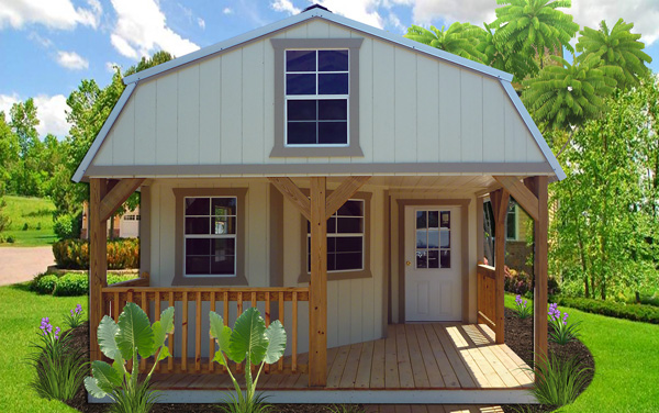 Deluxe Lofted Cabin Hunting Cabin Startec Portable